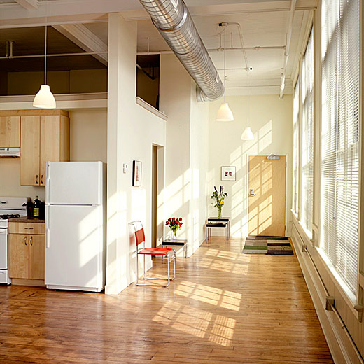 Calender features loft-style apartment with open floor plans and lots of light